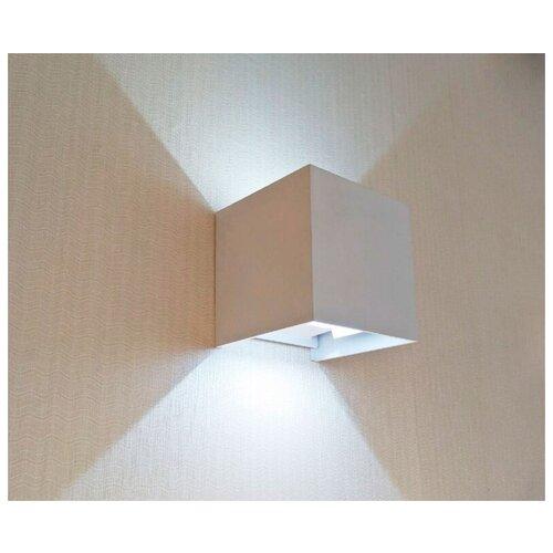 Уличный настенный светодиодный светильник Kink Light Куб 08585,01(4000K) kink light настенный светильник kink light ансер 08151 4000k
