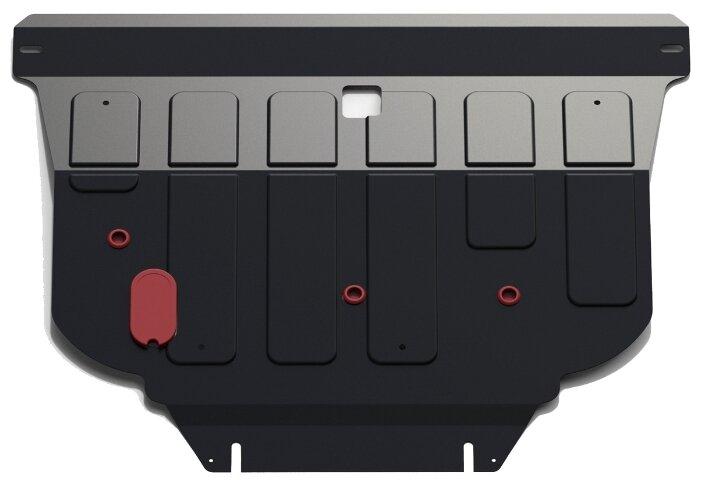 Защита картера двигателя и коробки передач Автоброня 111.04128.1 для Nissan