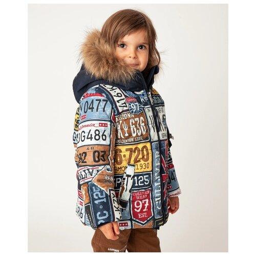 Купить Куртка Gulliver размер 122, синий, Куртки и пуховики