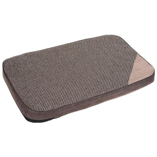 Лежак для собак PerseiLine Лофт 3 80х55х6 см коричневый