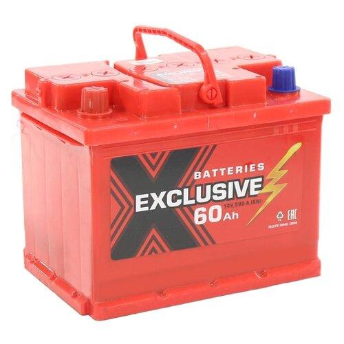 Автомобильный аккумулятор Exclusive 6СТ-60 П/П недорого