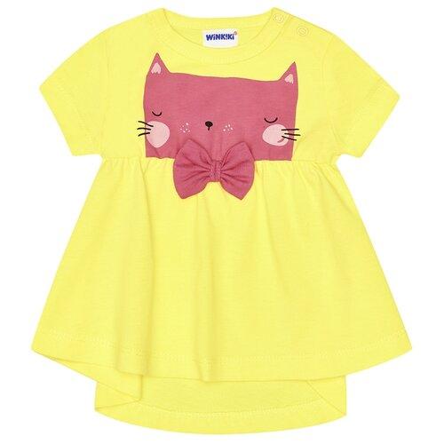 Купить Платье Winkiki размер 86, желтый, Платья и юбки