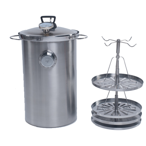 Коптильня горячего копчения Браво (Bravo) 20 литров