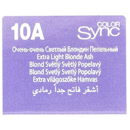 Купить Matrix Color Sync краска для волос без аммиака, 10A очень-очень светлый блондин пепельный, 90 мл