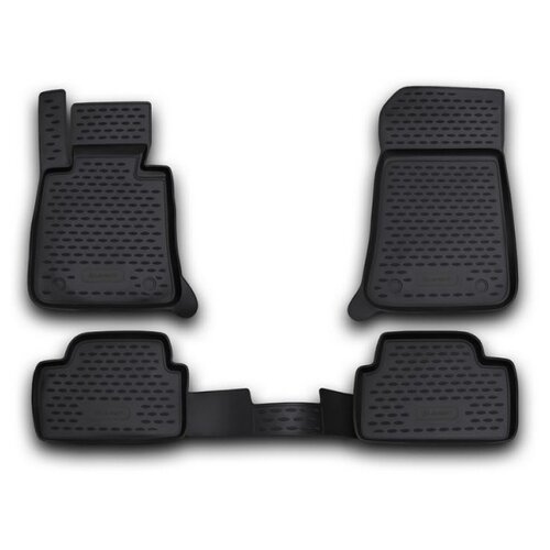 Комплект ковриков ELEMENT NLC.05.04.210k для BMW 1 серия 4 шт. черный