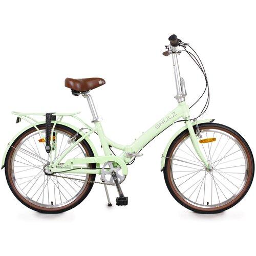 Городской велосипед SHULZ Krabi V-Brake фисташковый (требует финальной сборки)