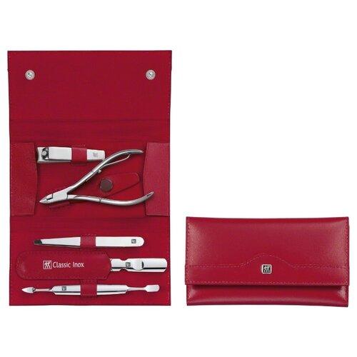 Маникюрный набор 5 пр. INOX красный Zwilling 97437-003 набор zwilling j a henckels inox 97507 черный 5 предметов