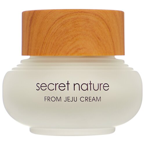 Фото - Secret Nature From Jeju Cream Увлажняющий крем для лица с экстрактом зелёного чая, 50 мл secret nature from jeju serum