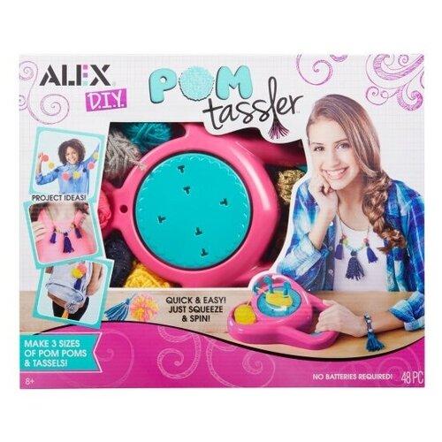 Купить 602050 Набор для создания помпонов и аксессуаров Помп Тасслер , Alex, Поделки и аппликации