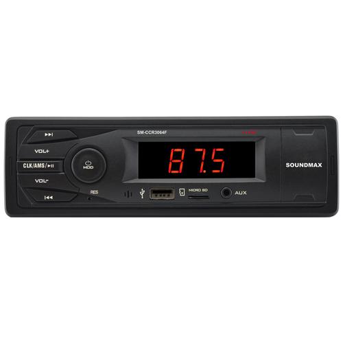 Автомагнитола SoundMAX SM-CCR3064F, черный