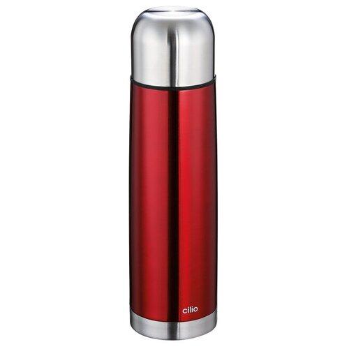 Термос COLORE от Cilio, 0,75 л, d-8 см, h-29 см, красный, сталь