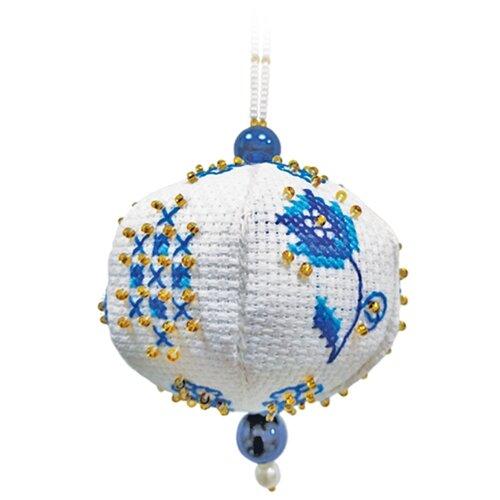 ZENGANA Набор для вышивания бисером и нитками Россыпи 7 х 8 см (М-120)