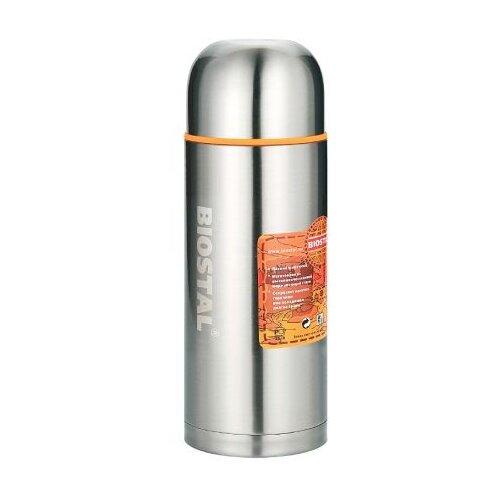 Классический термос Biostal NBP-1000 2 пробки (1 л) серебристый недорого