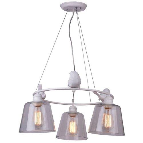 Люстра Arte Lamp Passero A4289LM-3WH, E27, 120 Вт люстра arte lamp sansa a7585pl 3wh e27 120 вт