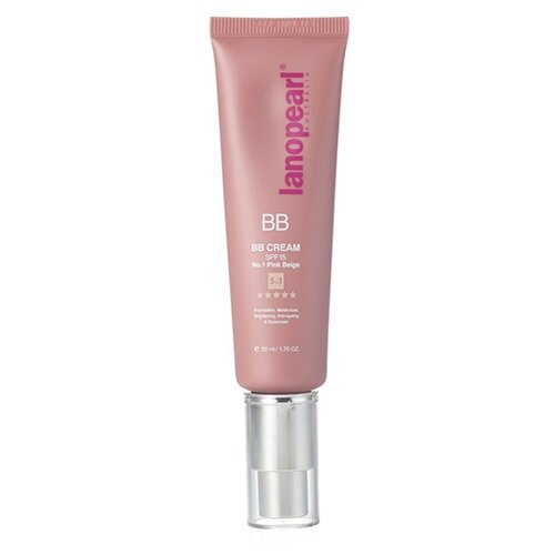 Lanopearl BB крем 5 в 1, SPF 15, 50 мл, оттенок: №1 Pink beige