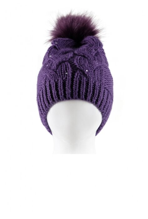 Шапка для девочки Reike, цвет: фиолетовый, размер: 56