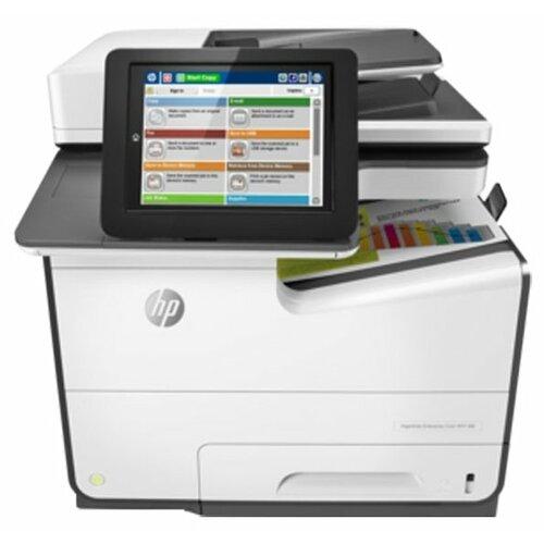 МФУ HP PageWide Enterprise 586z белый/черный  - купить со скидкой