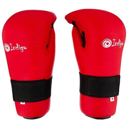 Перчатки Indigo 7-CONTACT UL-3645 для карате, тхэквондо красный M