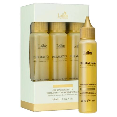Сыворотка против выпадения волос Lador Dermatical Active Ampoule 6 шт х 30 мл