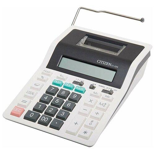 Калькулятор бухгалтерский CITIZEN CX-32N белый