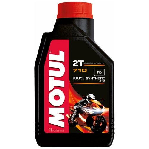 Синтетическое моторное масло Motul 710 2T, 1 л