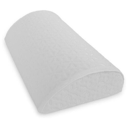 Подушка-полувалик с эффектом памяти 40х22х9см