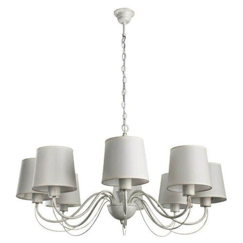 Люстра Arte Lamp Orlean A9310LM-8WG, E27, 320 Вт подвесная люстра arte lamp orlean a9310lm 8wg