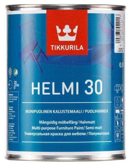Краска Tikkurila Helmi 30 полуматовая