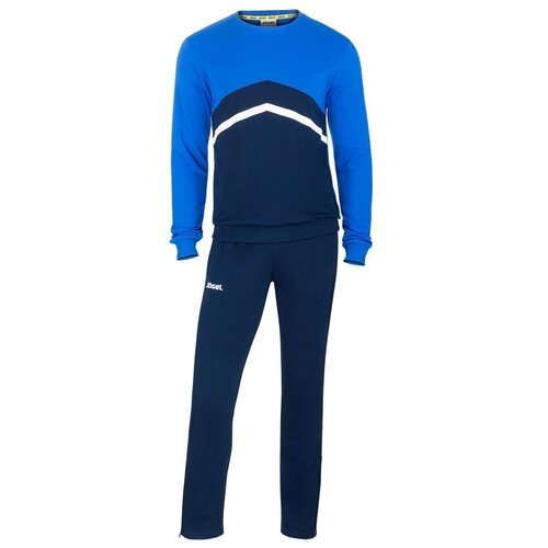 Фото - Спортивный костюм Jogel , размер L , темно-синий/синий/белый костюм авангард 001160 l синий