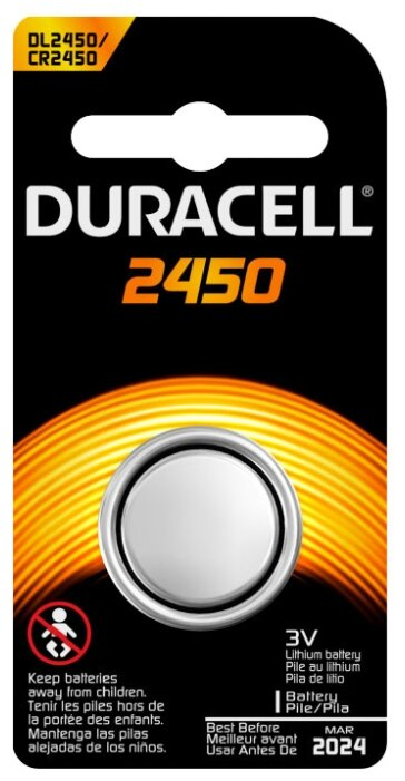 Батарейка Duracell 2450