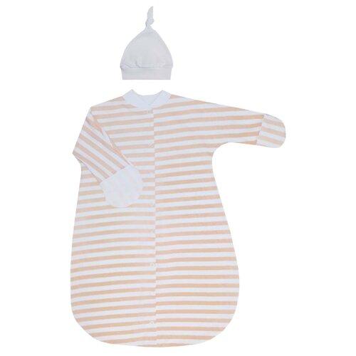 Фото - Комплект одежды KotMarKot размер 56-62, белый/розовый комплект одежды kotmarkot размер 62 68 белый голубой
