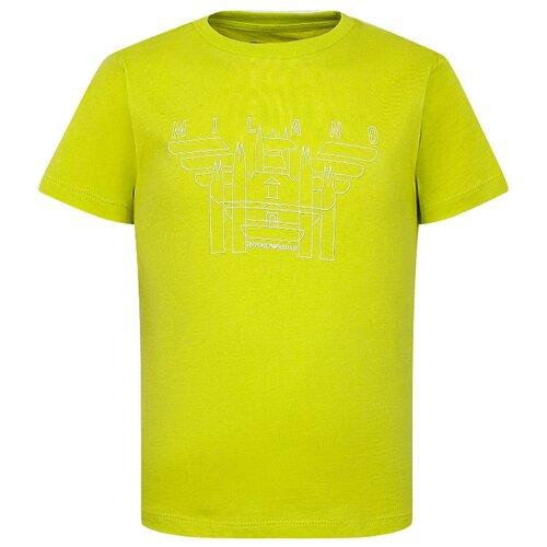 Футболка EMPORIO ARMANI, размер 116, желтый