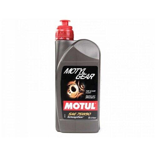 Масло трансмиссионное Motul MotylGear 75W-90, 75W-90, 1 л масло трансмиссионное motul motylgear 75w 90 75w 90 20 л