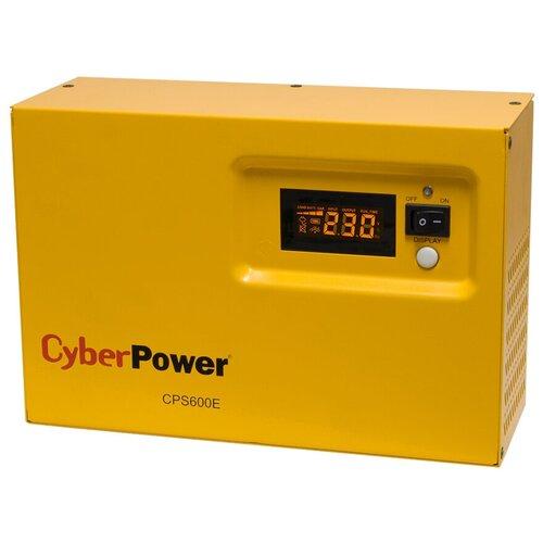 Интерактивный ИБП CyberPower CPS600E желтый