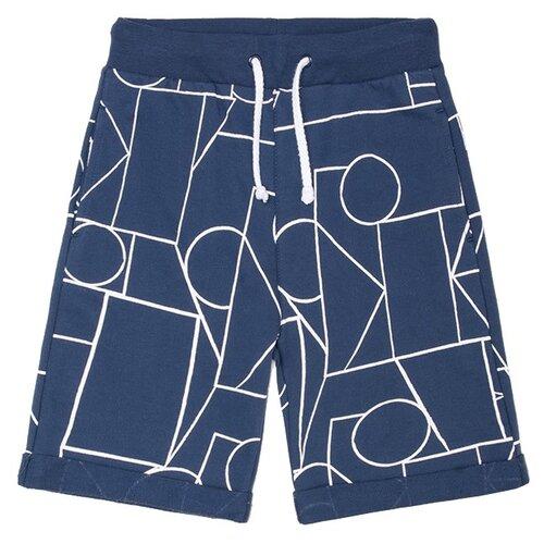Купить Шорты crockid размер 110, темно-синий/геометрические фигуры к248