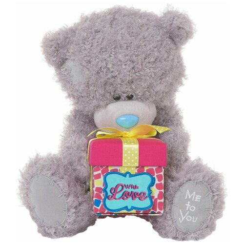 Мягкая игрушка Me to you Мишка Тедди с подарком 25 см