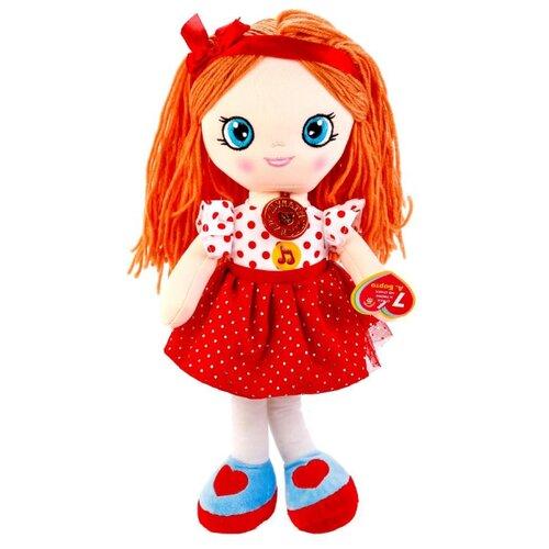 Купить Мягкая игрушка Мульти-Пульти Мягкая кукла 5 песенок и 2 стихотворения А.Барто 45 см, Мягкие игрушки