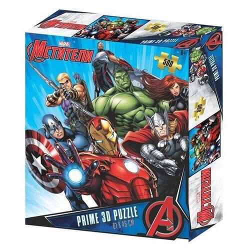 Купить Пазл Prime 3D Мстители (32569), 500 дет., Пазлы