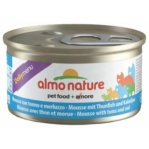 Корм для кошек Almo Nature Daily Menu с тунцом 24шт. х 85 г