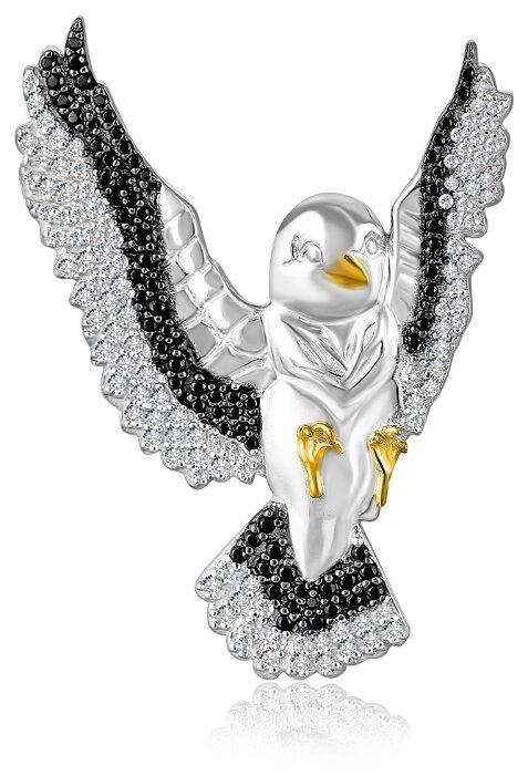 Бронницкий Ювелир Брошь из серебра 2700050-00215