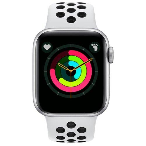 Умные часы BandRate Smart SX1818 черный/белый