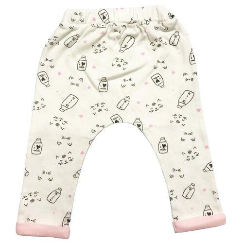 Брюки Linas Baby 1083-12 размер 62 (1-3), белыйБрюки и шорты<br>