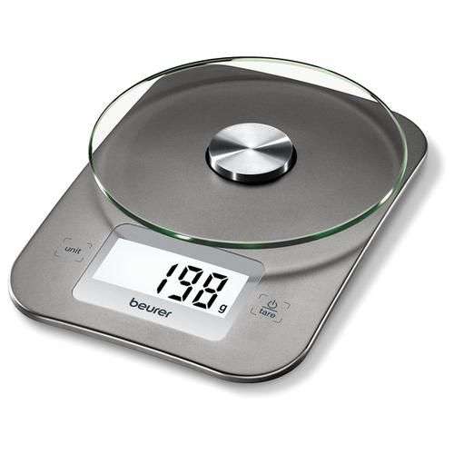 Фото - Кухонные весы Beurer KS 26 серебристый кухонные весы beurer ks 51