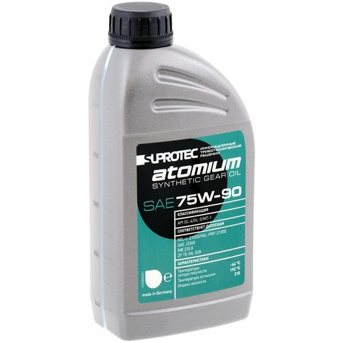 Фото - Трансмиссионное масло Suprotec ATOMIUM 1 л suprotec mototec 2 0 1 л