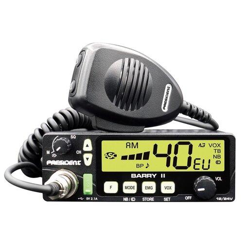 Автомобильная радиостанция PRESIDENT BARRY II (12/24V)