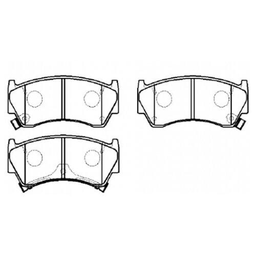 Дисковые тормозные колодки передние HONG SUNG BRAKE HP5014 для Nissan Sunny (4 шт.) дисковые тормозные колодки передние hong sung brake hp8153 для honda civic 4 шт