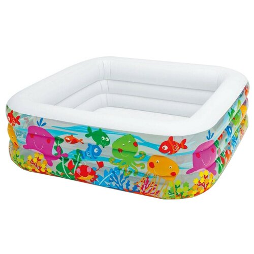 Детский бассейн Intex Clearview Aquarium 57471 детский бассейн intex 58439