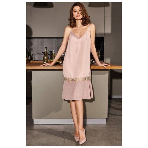 Сорочка Laete размер XS(42) персиковый платье oodji ultra цвет красный белый 14001071 13 46148 4512s размер xs 42 170