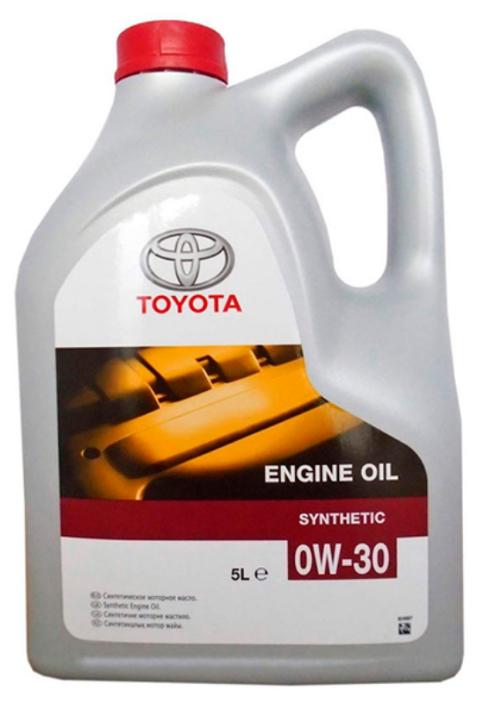 Моторное масло TOYOTA SAE 0W-30 5 л — купить по выгодной цене на Яндекс.Маркете