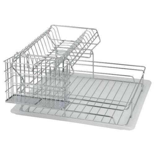 Фото - Сушилка для посуды Esprado Platinos 0024222E212, 42.5х43х22.5 см сушилка для посуды esprado platinos 0024222e212 42 5х43х22 5 см
